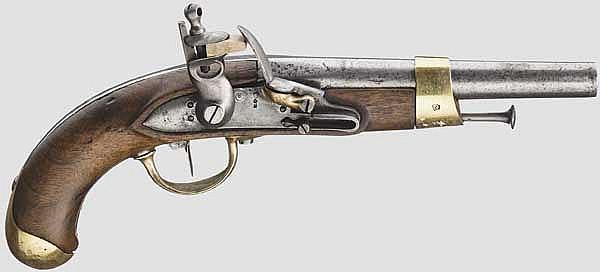 Pistole M An 13 mit preußischer Abnahme