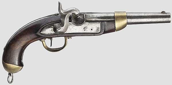 Kavalleriepistole, ähnlich dem französischen Modell M 1822 T neuf