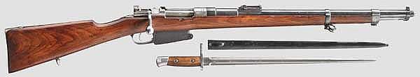 Gendarmerie und Artillerie-Karabiner Mod. 1889, mit Bajonett
