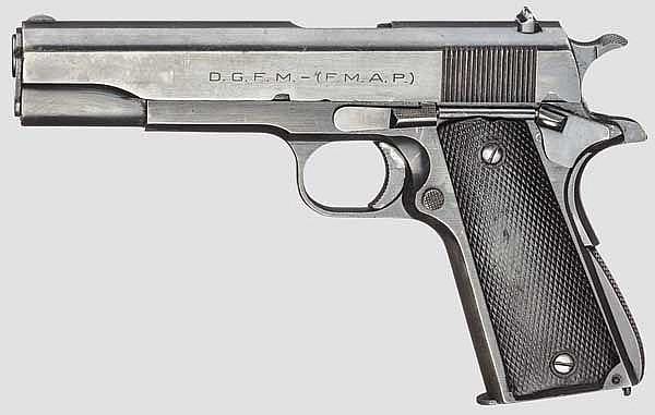 D.G.F.M. - (F.M.A.P.) Mod. 1927, System Colt