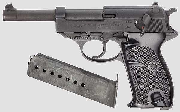 Walther P 38, Bundeswehr