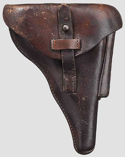 A holster for the P. 08, police