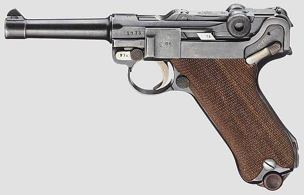 Pistole 08, Erfurt 1918/20, Reichswehr