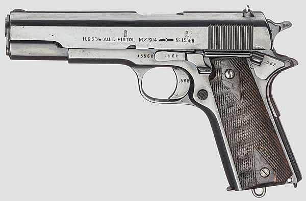 Automatische Pistole M/1914 (Colt Kongsberg)
