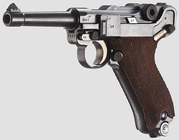 A Parabellum Dutch Navy, Mauser 1939,