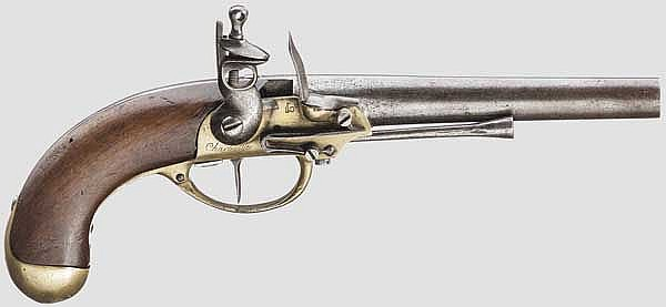 Kavallleriepistole M 1777, 1. Modell