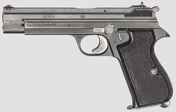 SIG Mod. P 210-4, BGS (Bundesgrenzschutz)