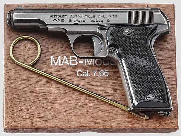MAB Mod. D, im Karton, Polizei Saarland