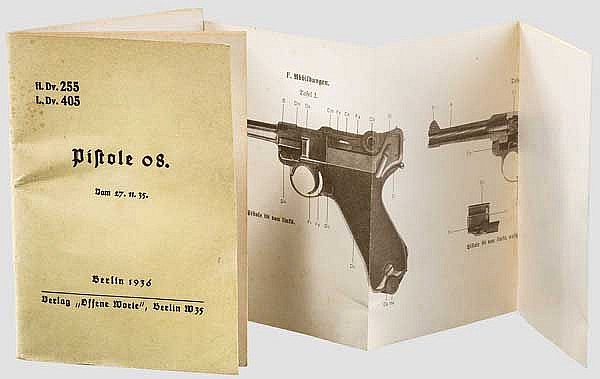 Originale Anleitung zur Pistole 08
