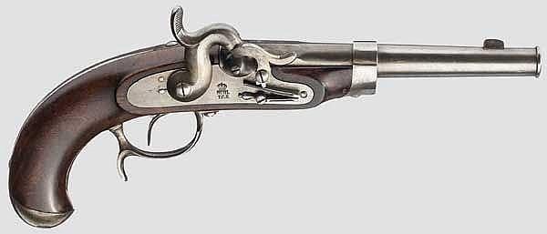 Pistole für Grenzaufseher Mod. 1851