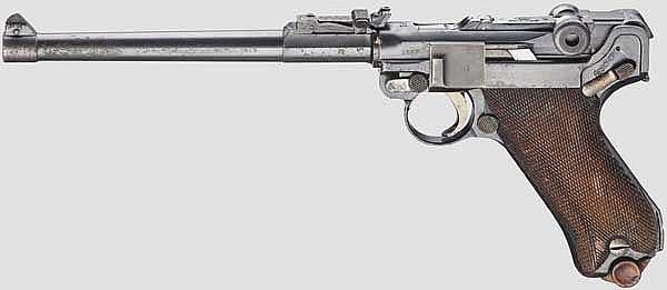 Lange Pistole 08, Erfurt 1914