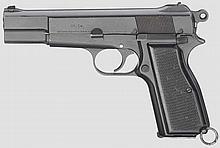 Browning Inglis No. 1 Mk I, mit Holster