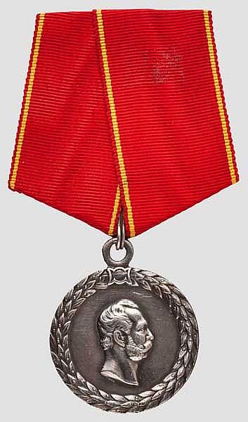 Medaille für tadellosen Polizeidienst, Regierungszeit Zar Alexanders II., um 1870/80