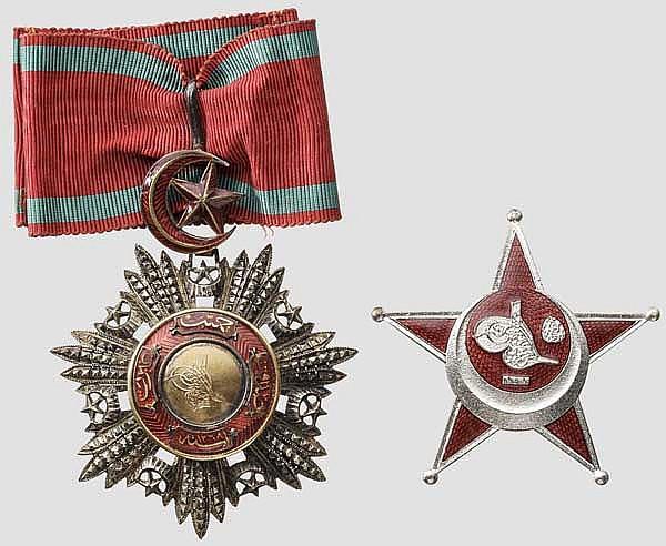Kaiserlich osmanischer Mecidiye-Orden - Dekoration der 3. Klasse (Komtur)