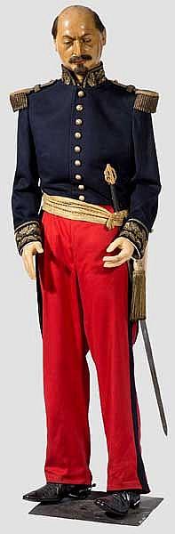 Wachsfigur von Napoleon III., Kaiser der Franzosen