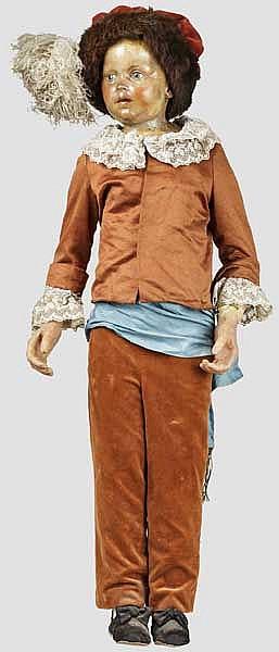 Wachsfigur von Louis Charles de Bourbon, Kronprinz von Frankreich bzw. Ludwig XVII.