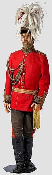 Wachsfigur von Georg V., König des Vereinigten Königreichs Großbritannien und Irland, Kaiser von Indien