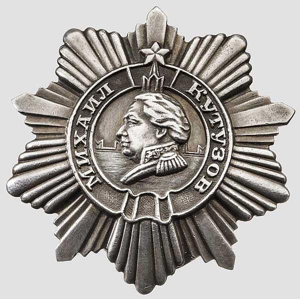 Kutusow-Orden 3. Klasse, Sowjetunion ab 1943