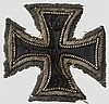Eisernes Kreuz 1914 - Kreuz 1. Klasse in gestickter Ausführung
