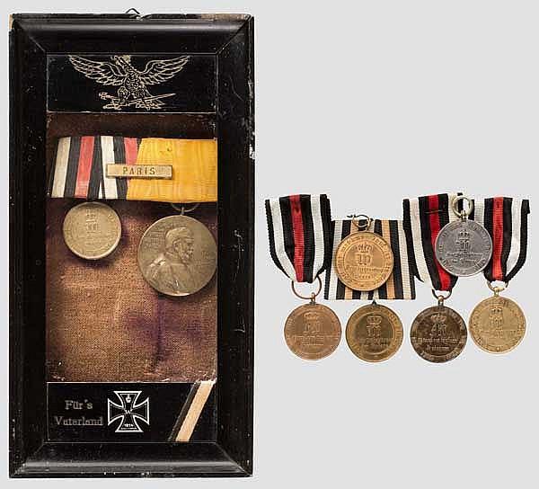 Sammlung Kriegsdenkmünzen 1813/1870