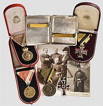 Oberstleutnant Albert Ritter von Kern - Auszeichnugsgruppe
