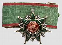 Konteradmiral und Held von Lissa Carl Ritter von Kern - Osmanje-Orden 3. Klasse und Verleihungsdokument