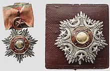 Konteradmiral und Held von Lissa Carl Ritter von Kern - Mecidiye-Ordensset 2. Klasse