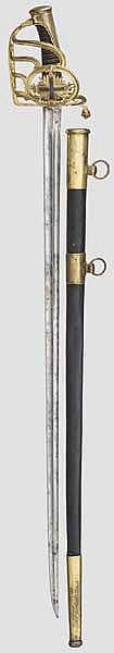 A sabre for enlisted men of the Mousquetaires gris de la Maison du Roi, circa 1814/15
