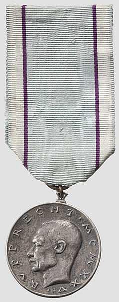 Kronprinz Rupprecht Medaille in Silber 1925