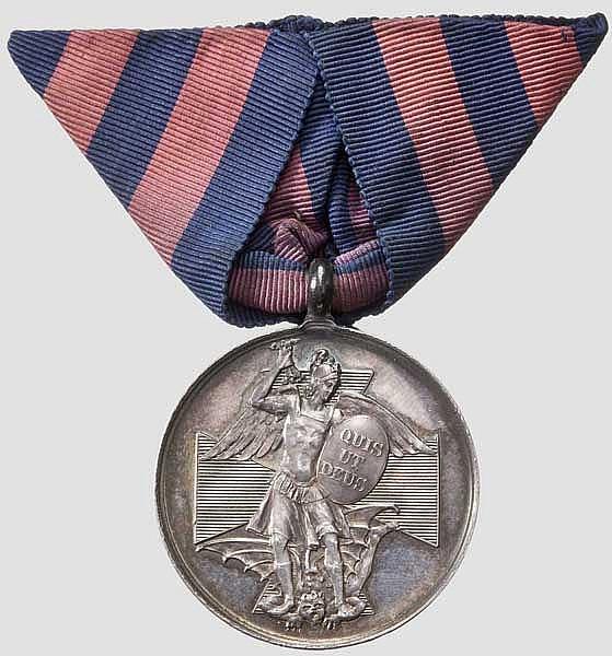 Michaelsorden - Silberne Medaille 1887