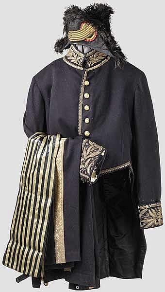 Uniform eines hohen Staatsbeamten oder Diplomaten um 1900