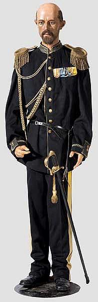 Wachsfigur von Gustav V., König von Schweden
