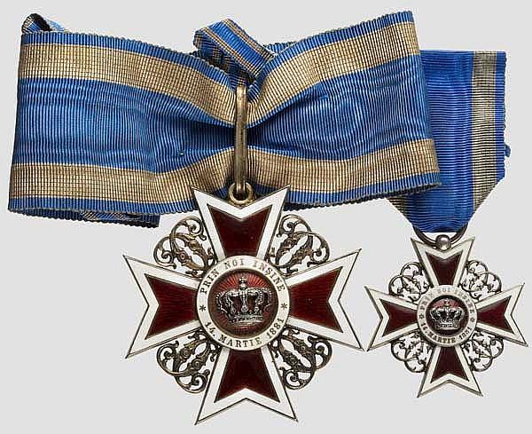 Geheimer Hofrat Professor Paul Lindenberg - Orden der Krone von Rumänien