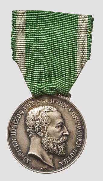 Geheimer Hofrat Professor Paul Lindenberg - Auszeichnungen Sachsen-Coburg-Gotha und Sachsen-Meiningen