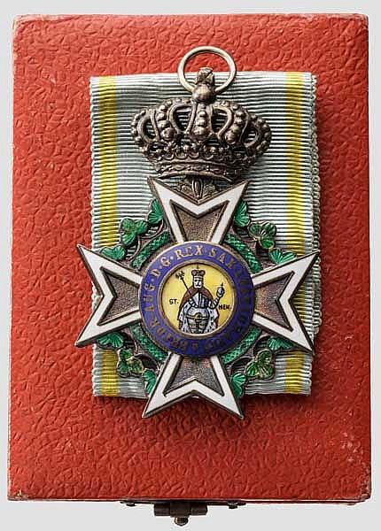 Militär St. Heinrichs Orden - Kreuz der Ritter im Etui