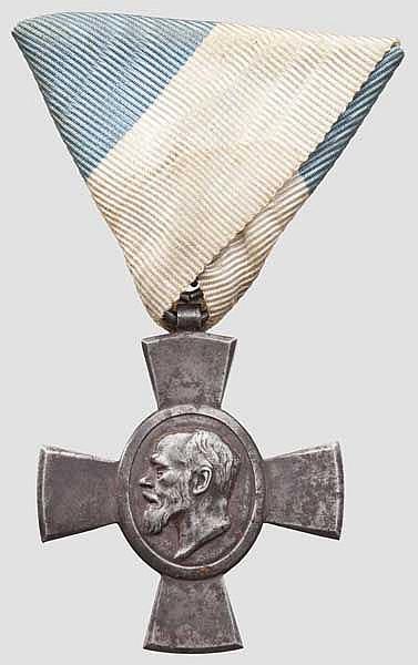 Jubiläumskreuz für die Offiziere und Unteroffiziere des K.u.K. (ungarischen) Infanterie-Regiments Nr. 62