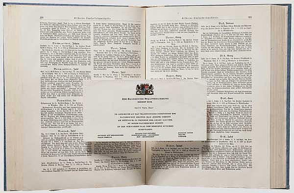 Bayerns Goldenes Ehrenbuch - gewidmet den Inhabern der höchsten bayerischen Kriegsauszeichnungen 1914/1918