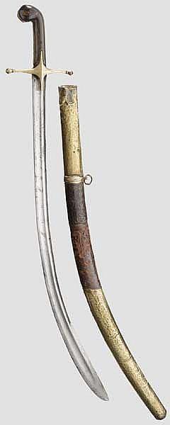 Säbel für Offiziere der Kavallerie à l'orientale