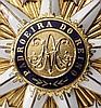 Krupp-Direktor Carl Menshausen - Königlich portugiesischer Orden unserer lieben Frau von der Empfängnis von Villa Vicosa - Kommandeursset in Godet-Fertigung 1898