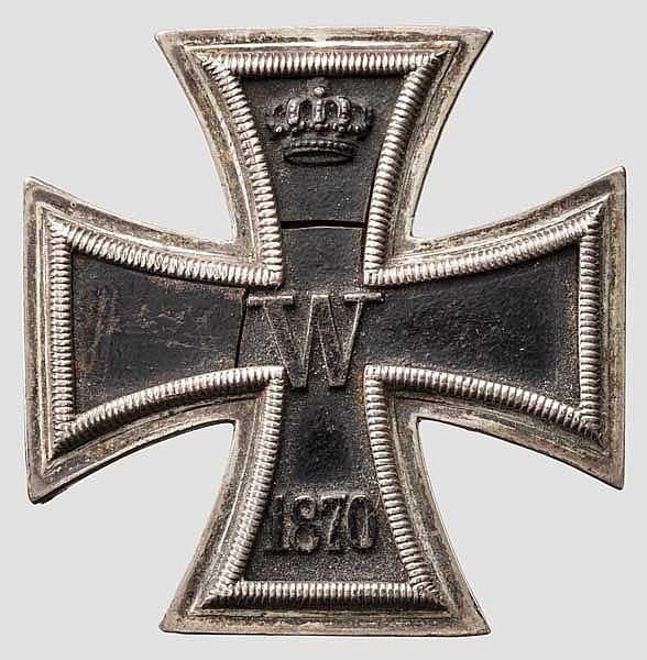 Eisernes Kreuz 1. Klasse 1870