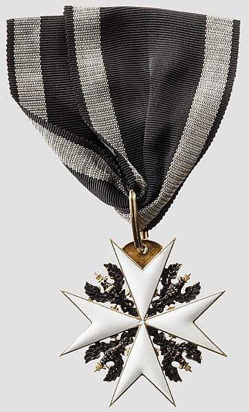 Johanniter-Orden - Kreuz der Ehrenritter in Godet-Fertigung