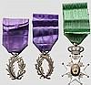 Königlicher Wasa-Orden (Kungliga Vasaorden) - Ritterkreuz im Etui und Palmen der Akademie