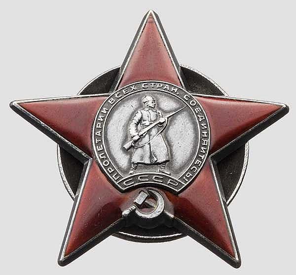 Orden des Roten Sterns, Sowjetunionum um 1936