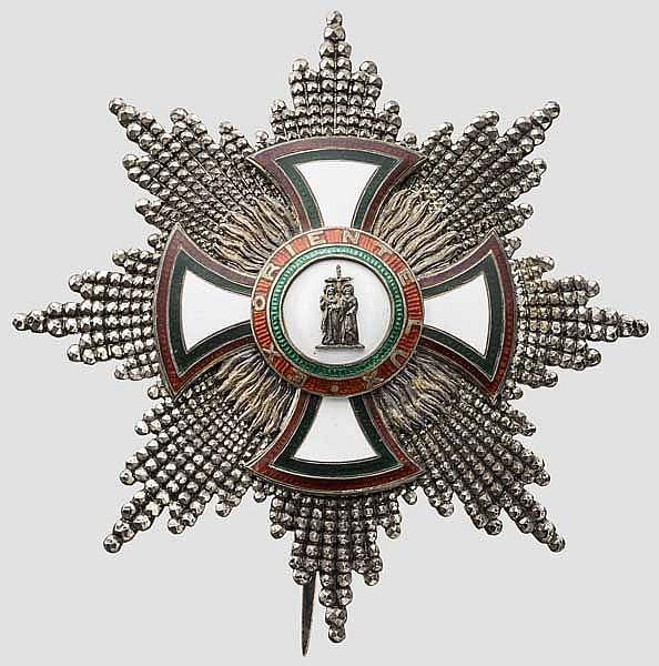 Vikariat von Sofia und Philippopel - Orden der Heiligen Kyrill und Methodius - Bruststern der Großkreuze (1. Klasse)