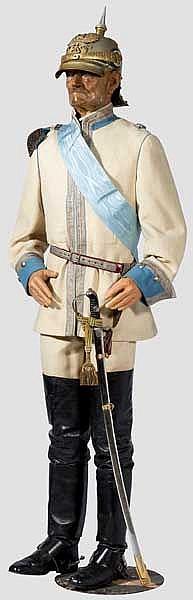 Wachsfigur des preußischen Generalfeldmarschalls Friedrich von Wrangel
