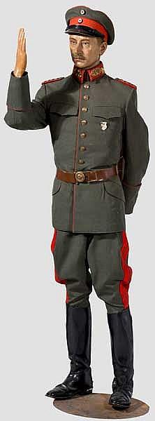 Wachsfigur von Wilhelm, preußischer und deutscher Kronprinz