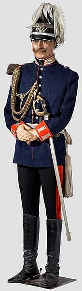 Wachsfigur von Wilhelm II, Deutscher Kaiser und König von Preußen