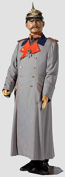 Wachsfigur des preußischen Generalfeldmarschalls Paul von Hindenburg