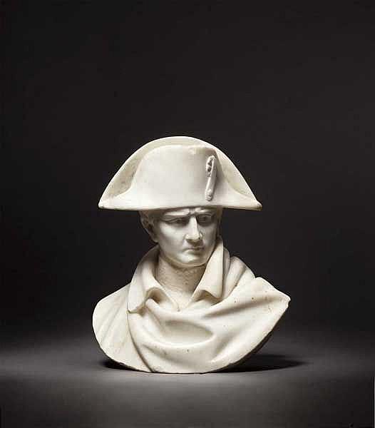 Kaiser Napoleon I. (1769 - 1821) - Portraitbüste, 19. Jhdt.