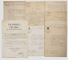 Krupp-Direktor Carl Menshausen - Verleihungsurkunde zum Kommandeurkreuz des Ordens der Italienischen Krone 1894